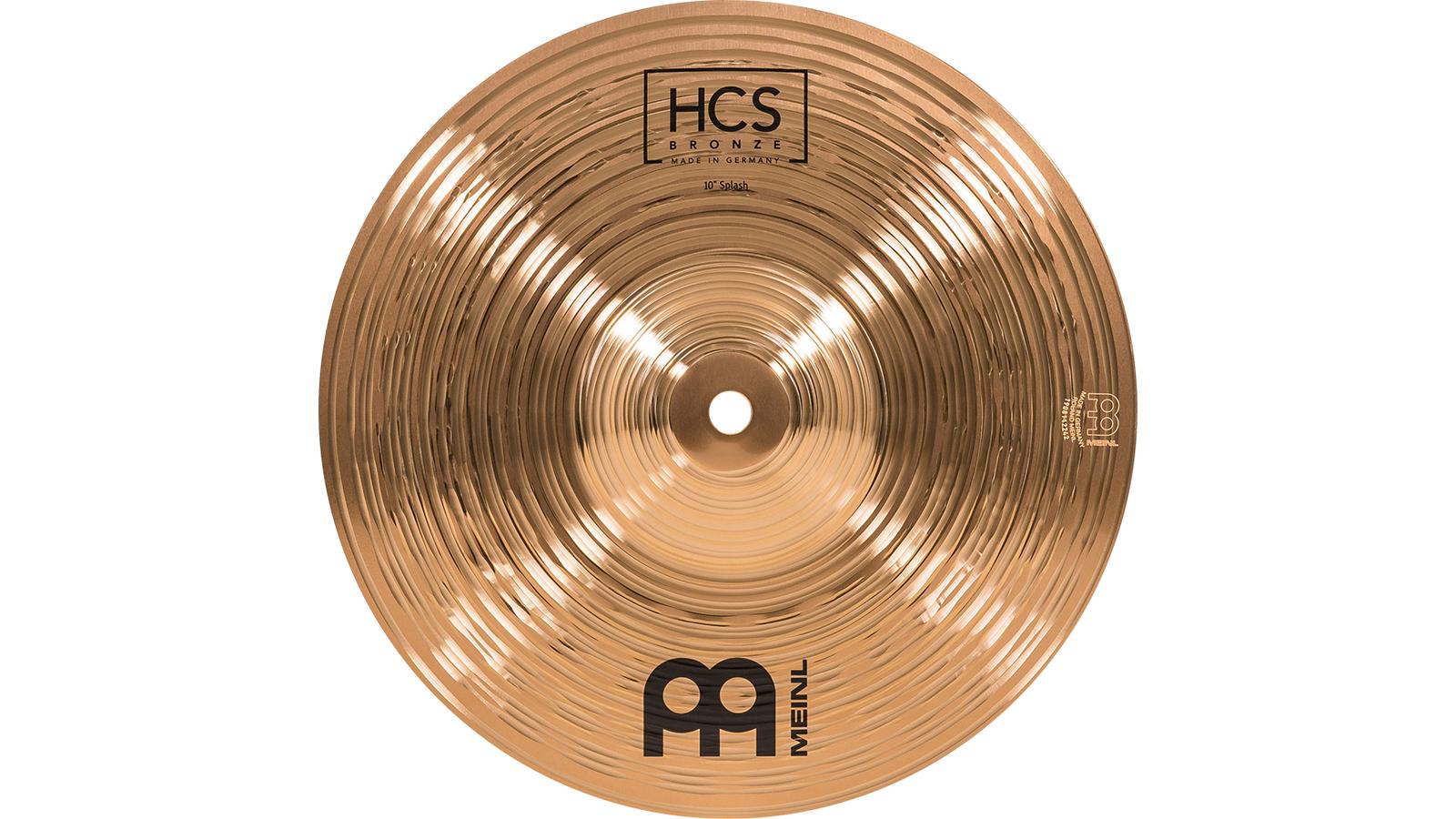 """Meinl HCSB10S 10"""" Splash HCS Bronze"""