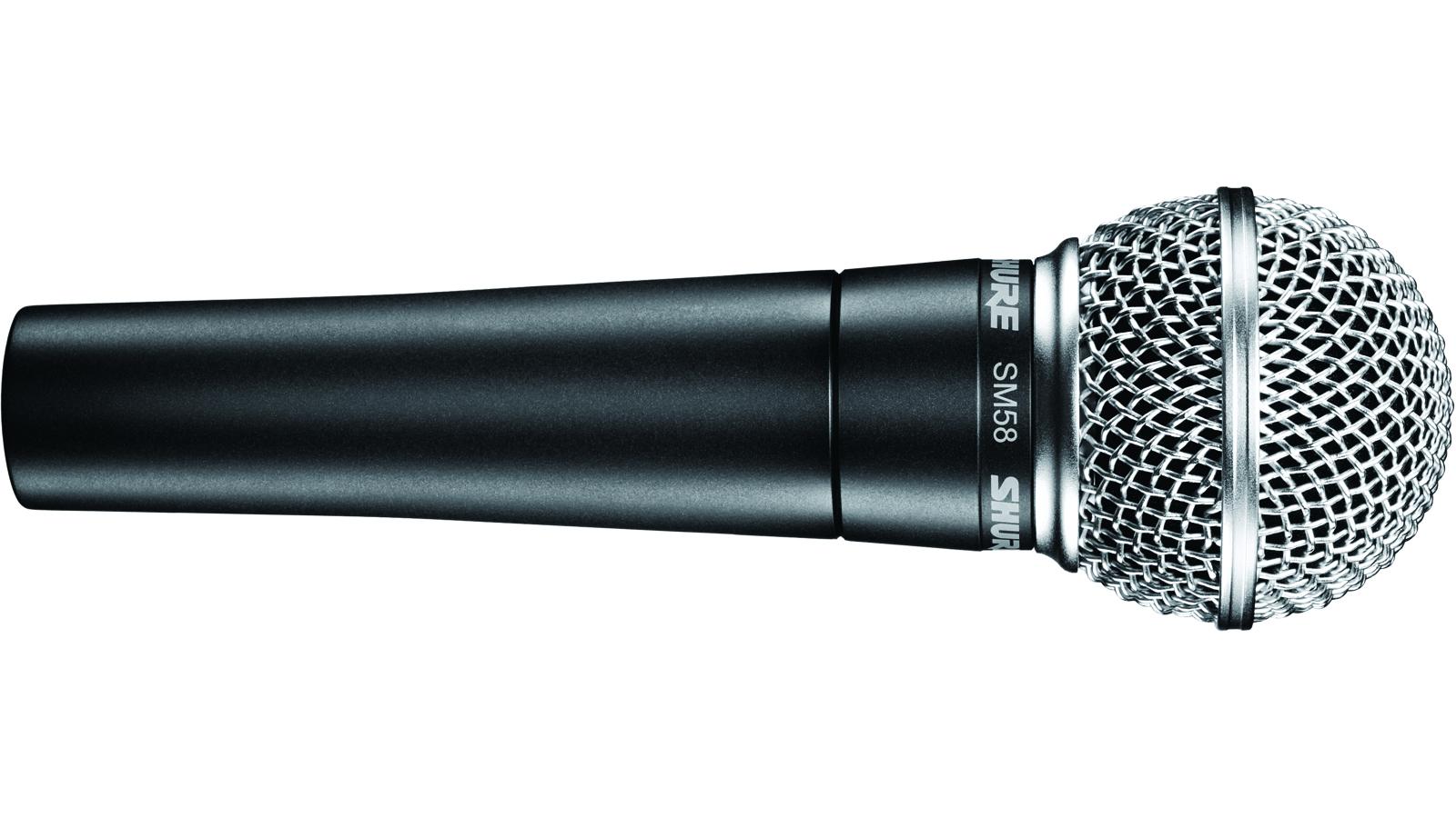 Shure SM 58 dynamisches Gesangsmikrofon ohne Schalter