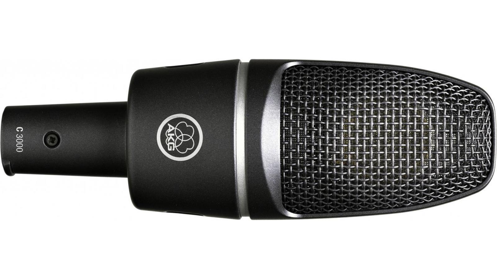 AKG C-3000 Mikrofon inkl. Spinne