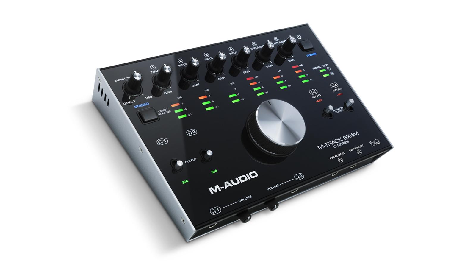 M-Audio M-Track 8X4M USB Audio Midi Interface
