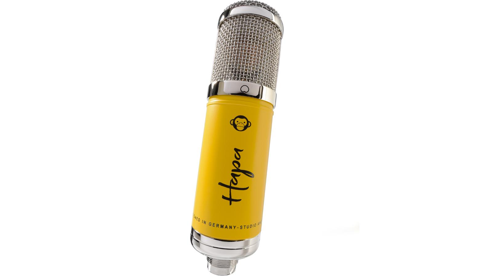 Monkey Banana Hapa USB Mikrofon gelb