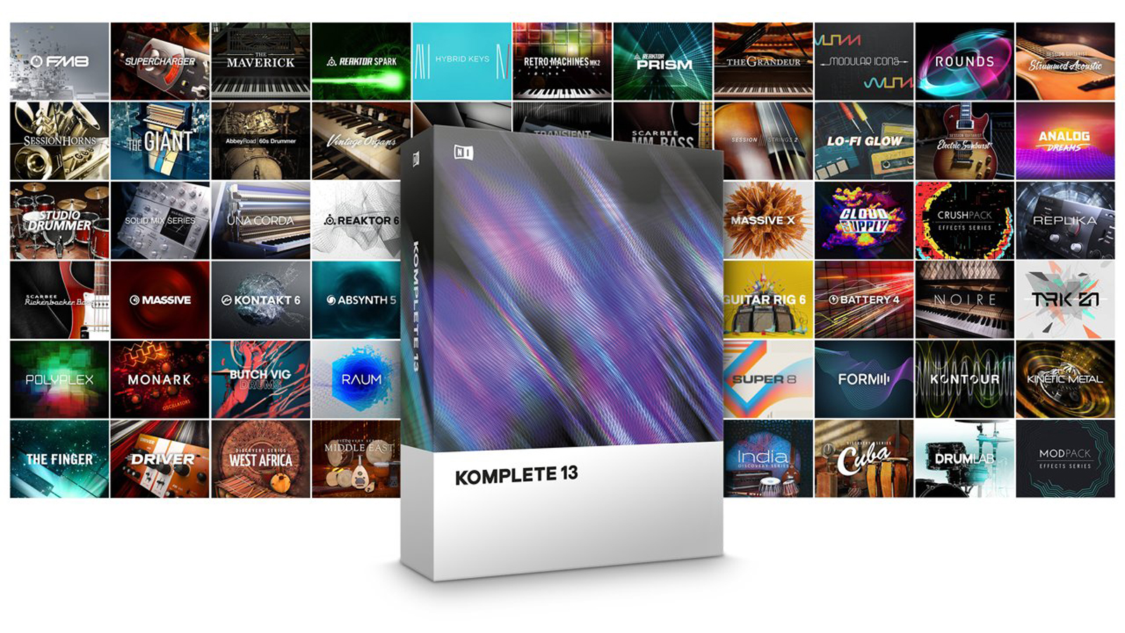 Native Instruments KOMPLETE 13 EDU