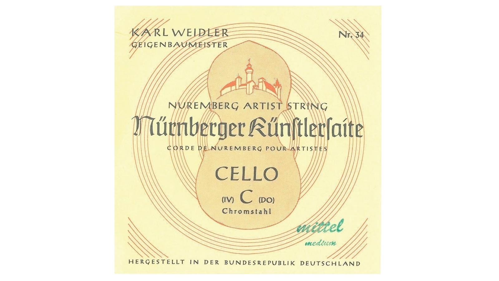Nürnberger 639640 Saiten für Cello 4/4
