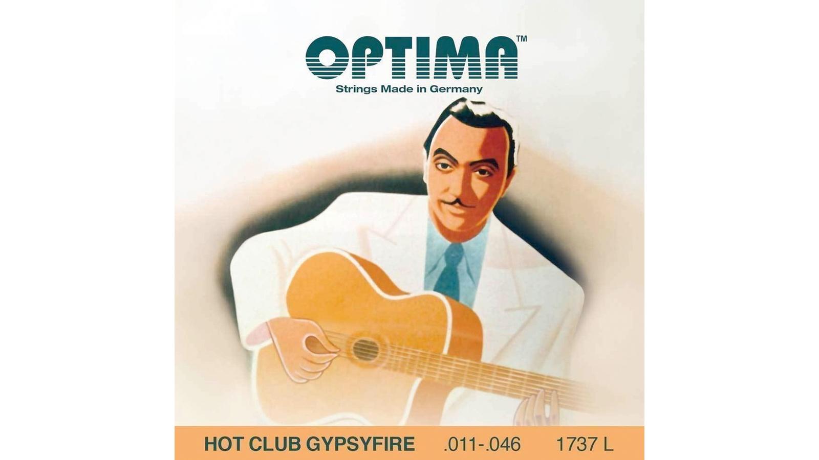 Optima 1737L Hot Club Gypsy Fire Saiten