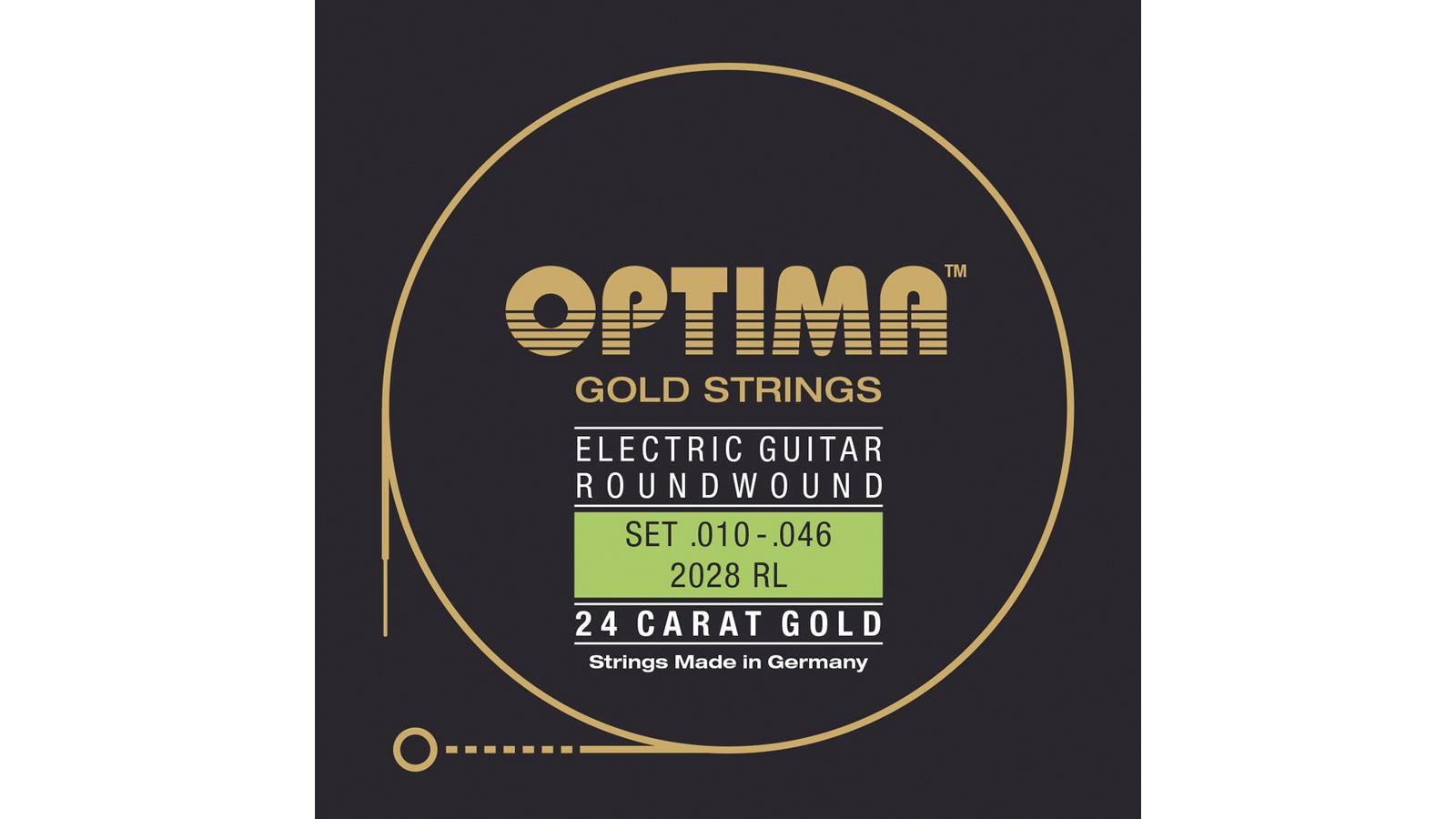 Optima 2028 RL Gold Strings 010-046