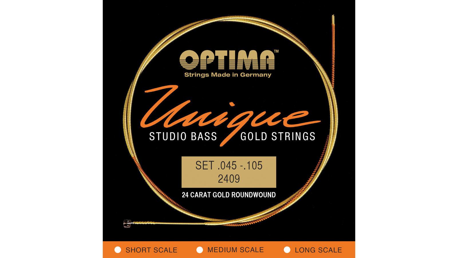 Optima Unique Studio Gold E-Bass Saiten