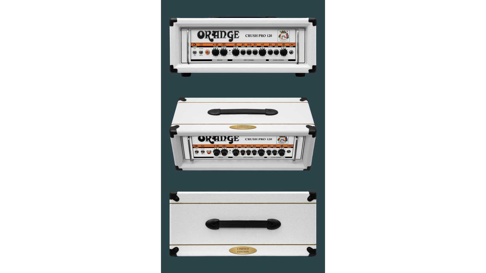 Orange Crush Pro CR120H White Ltd Ed.
