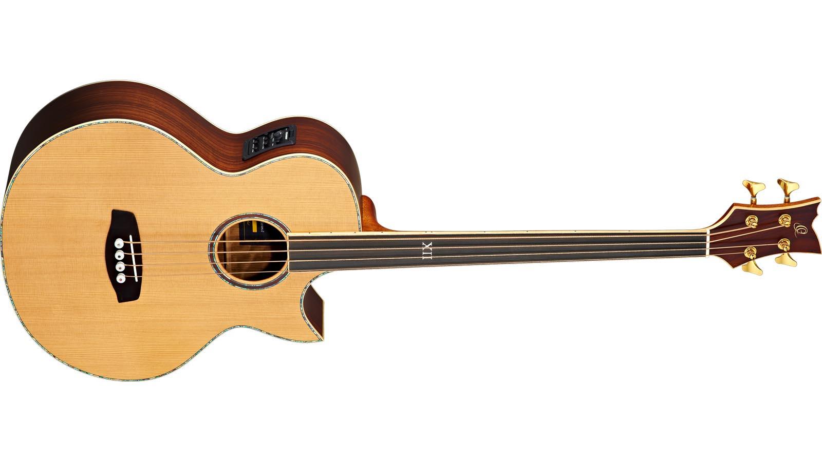 Ortega D2-4FL Akustik Bass 4-Saiter Fretless
