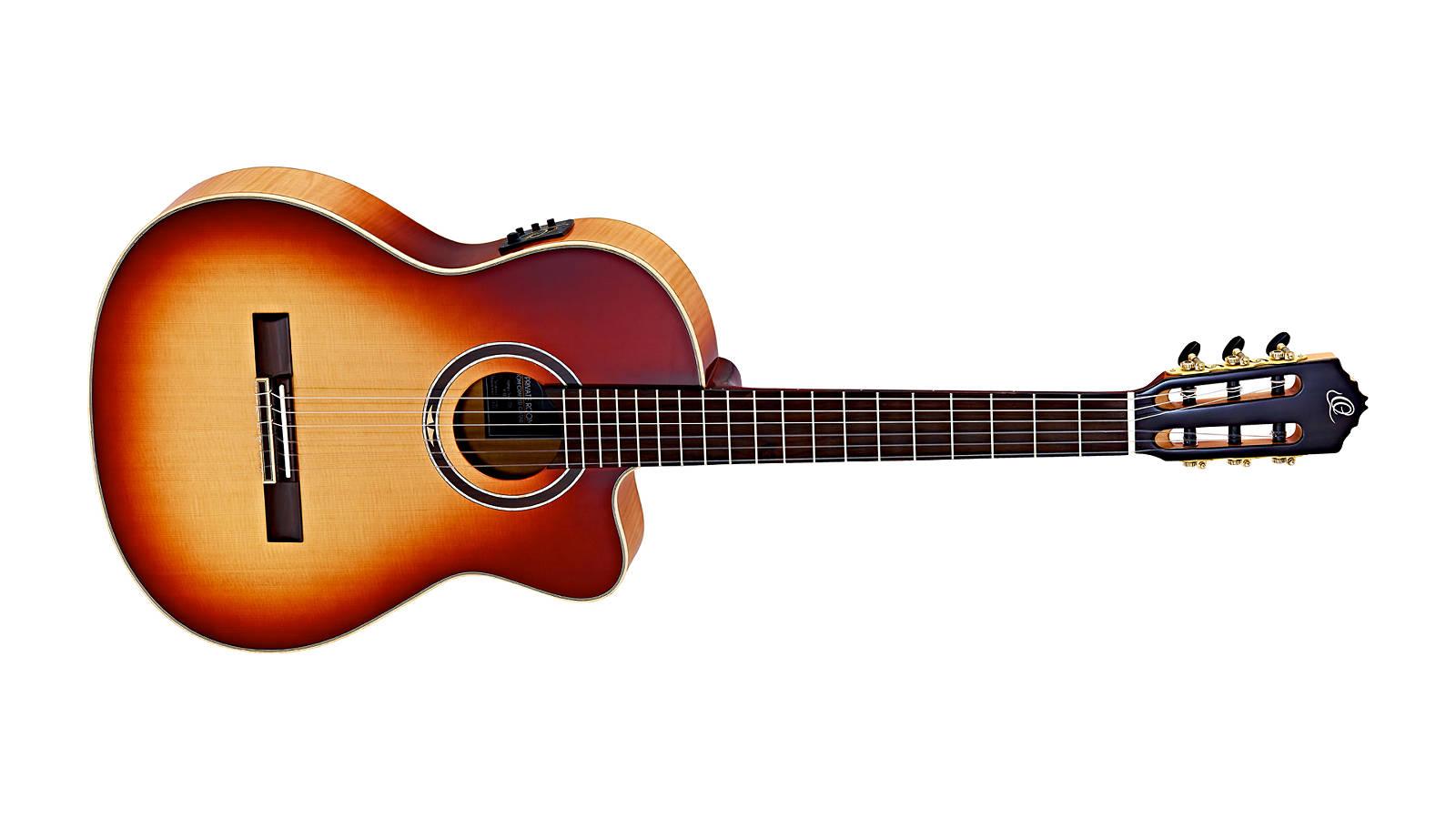 Ortega Honey Suite C/E Konzertgitarre