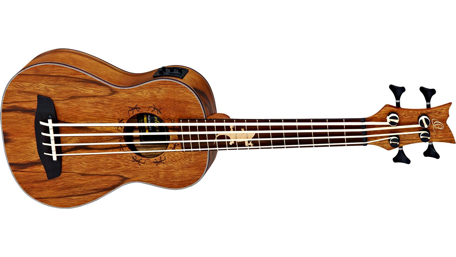 Ortega LIZARD-BS-G Bass Ukulele Paldao