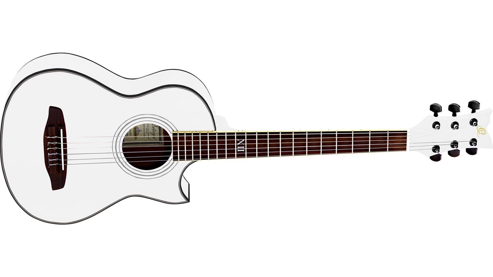 Ortega NL-Walker WH Travel Gitarre