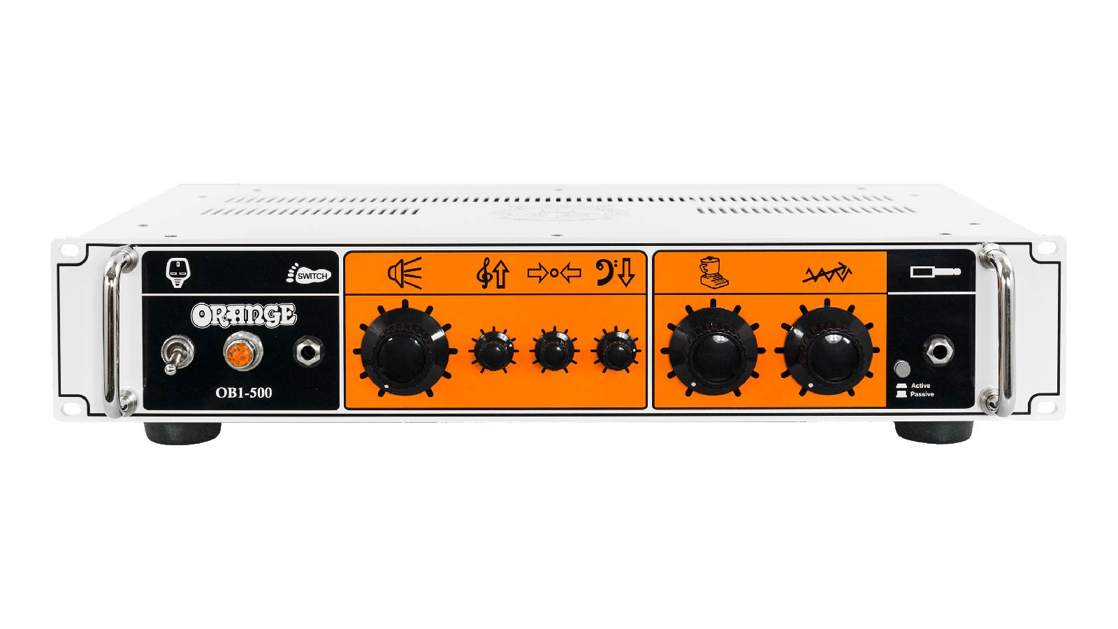Orange OB1-500 Bass Topteil 4Ohm Rack Einbau