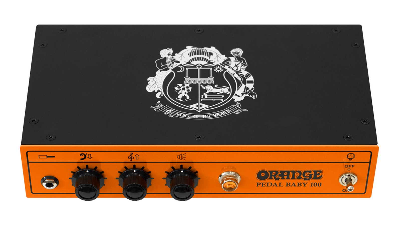 Orange Pedal Baby 100 Class A/B Solid-State Endstufe
