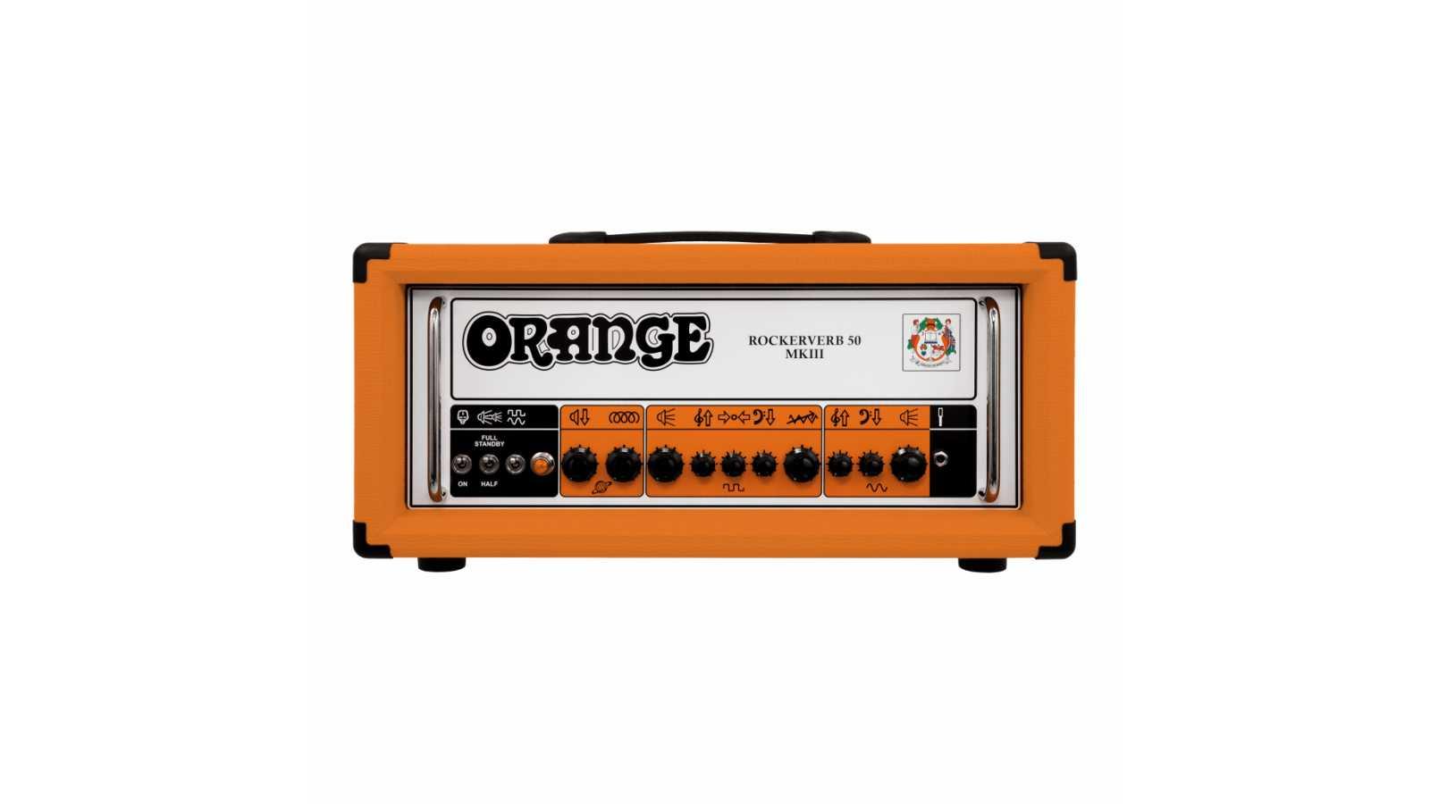 Orange RK50H MKIII Rockerverb Top