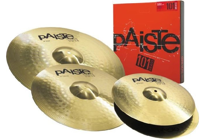 Paiste 101 BRASS Becken Universal Set