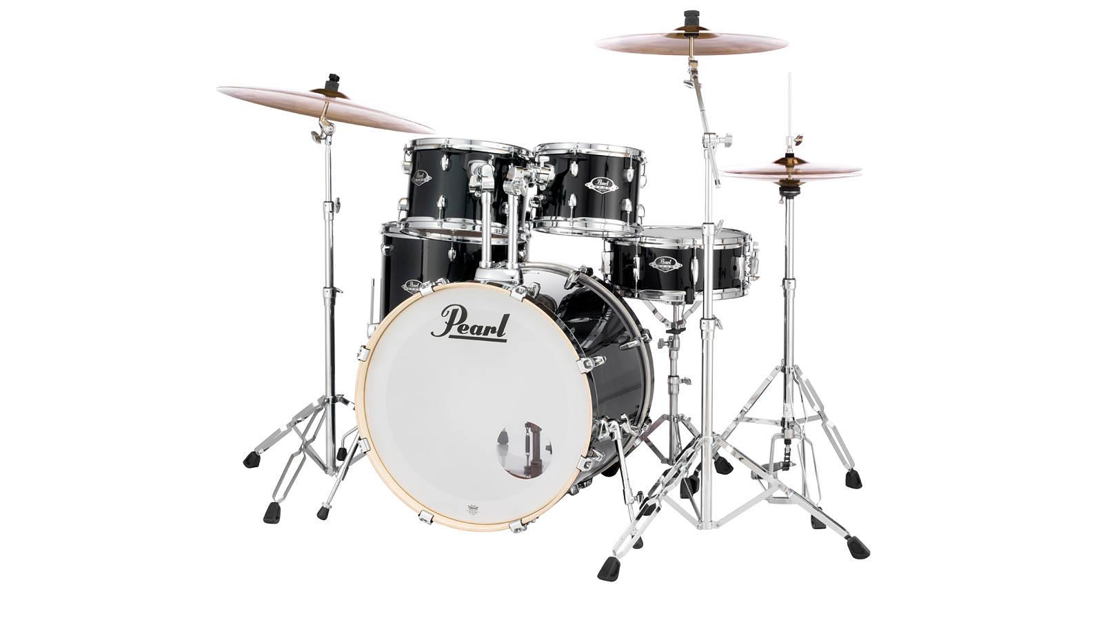 Pearl EXX785SBR Export Drumset Black