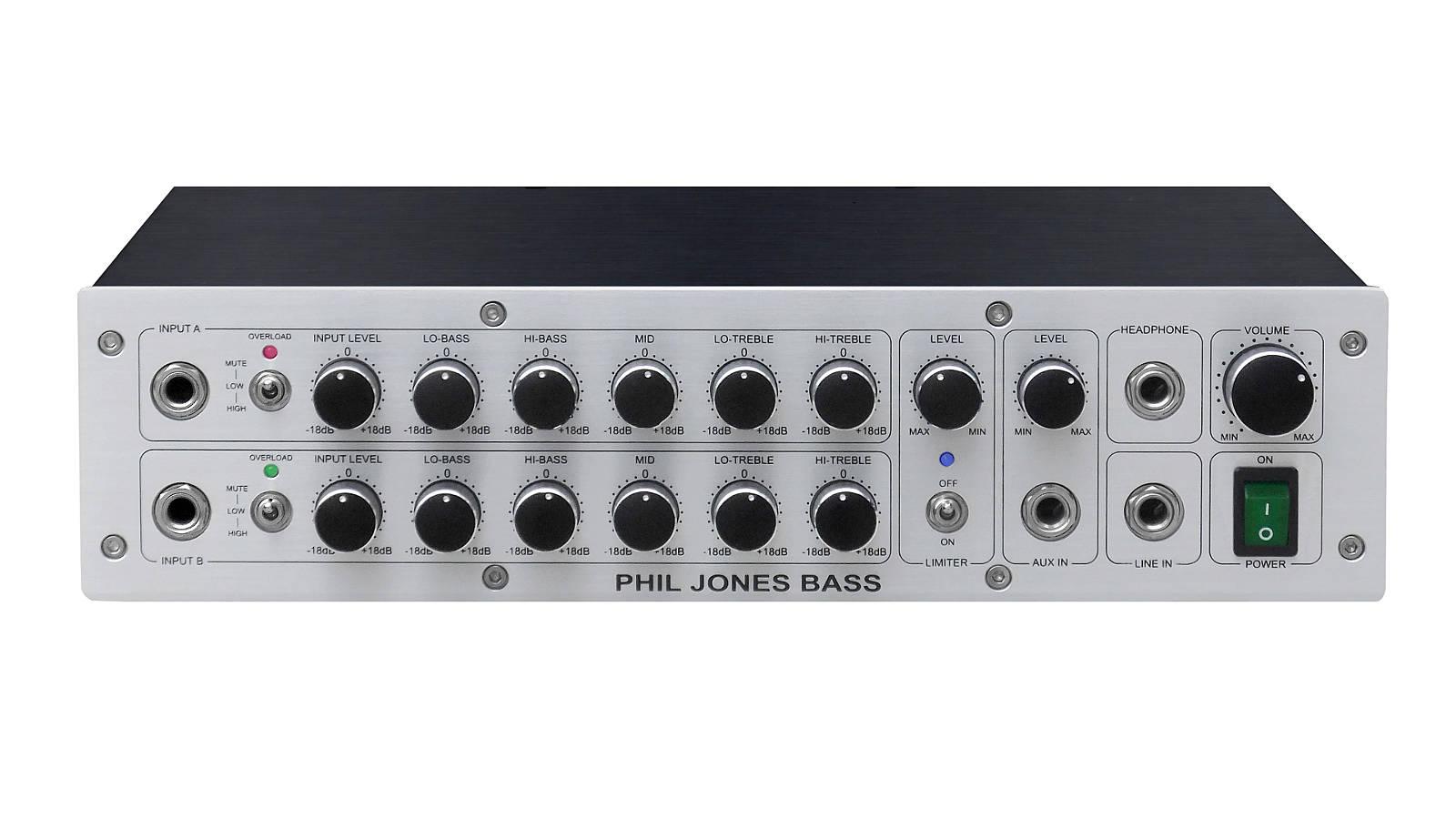 Phil Jones D-600 Bass Topteil