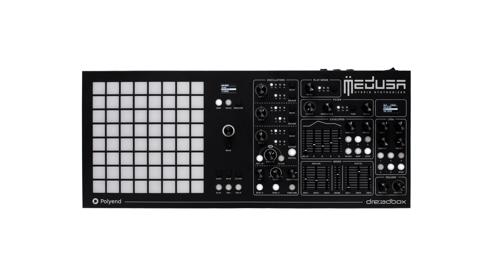 Polyend & Dreadbox Medusa Hybrid Synthesizer