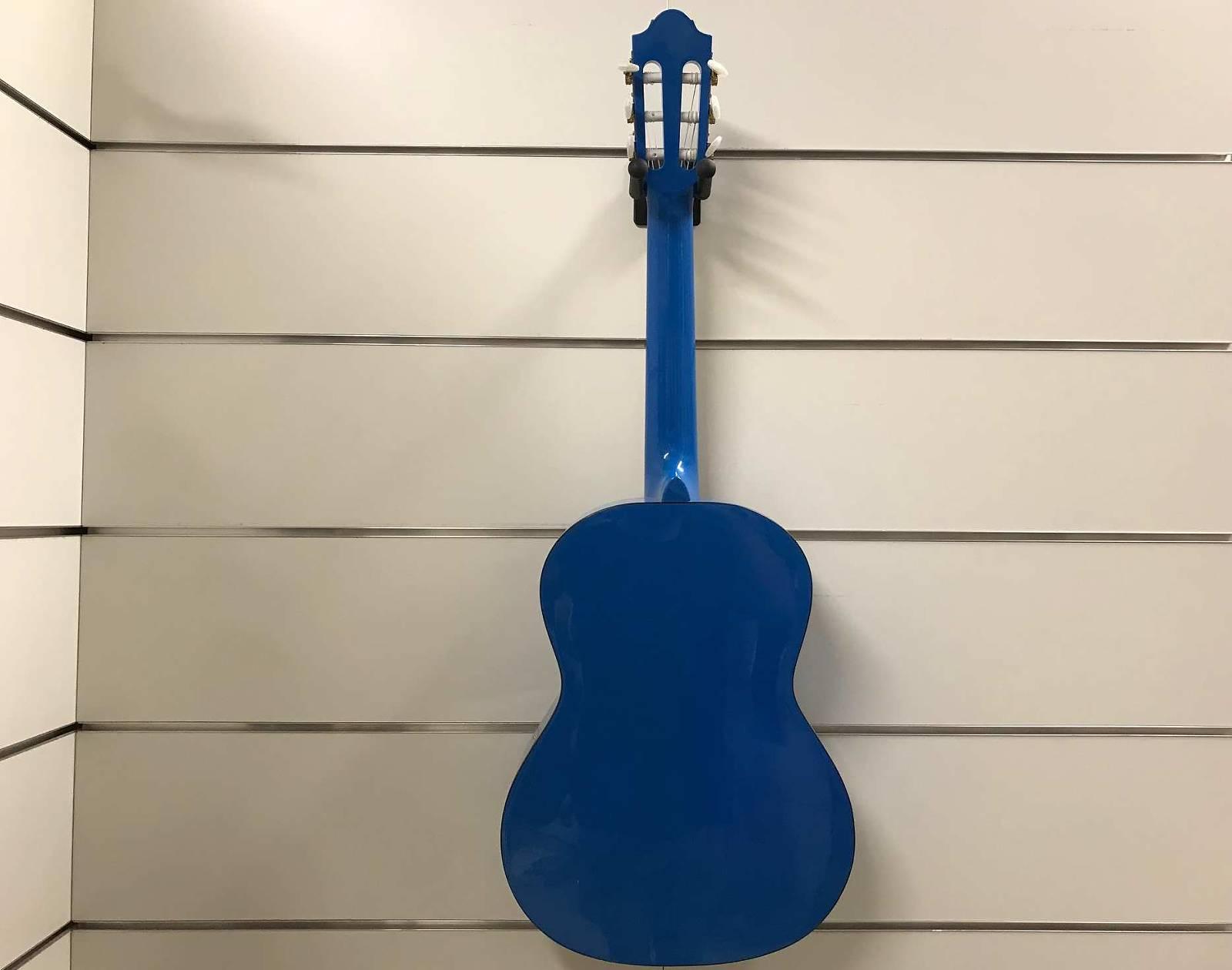 Pro Natura Konzertgitarre Silver 3/4 Blau