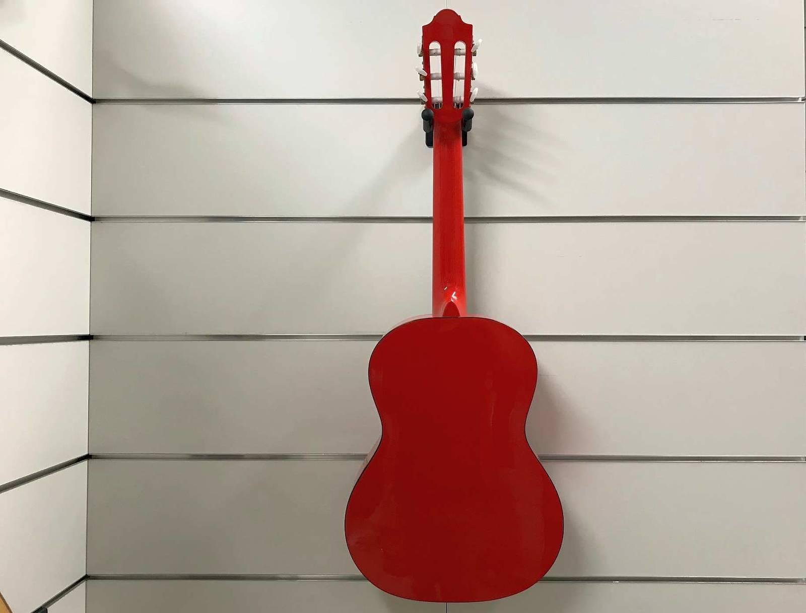 Pro Natura Konzertgitarre Silver 3/4 Rot