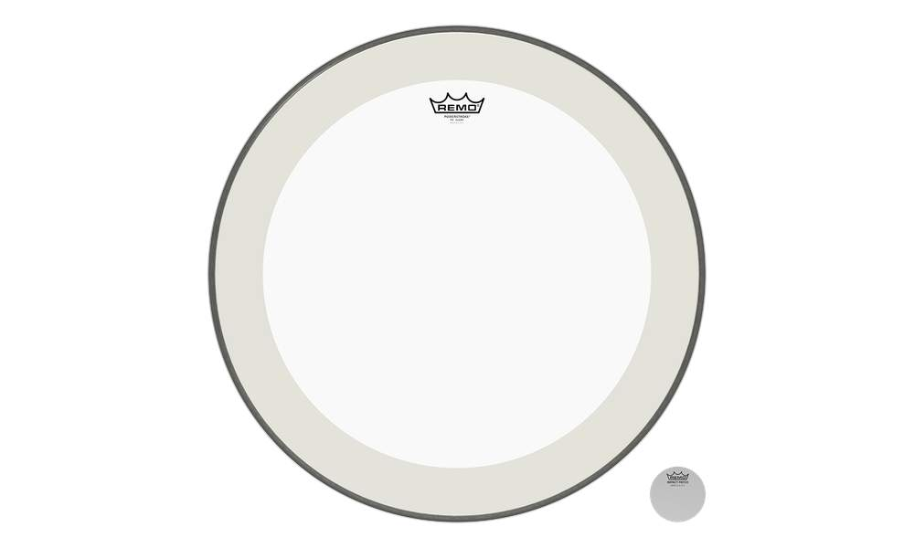 Remo Powerstroke 4 clear 13""