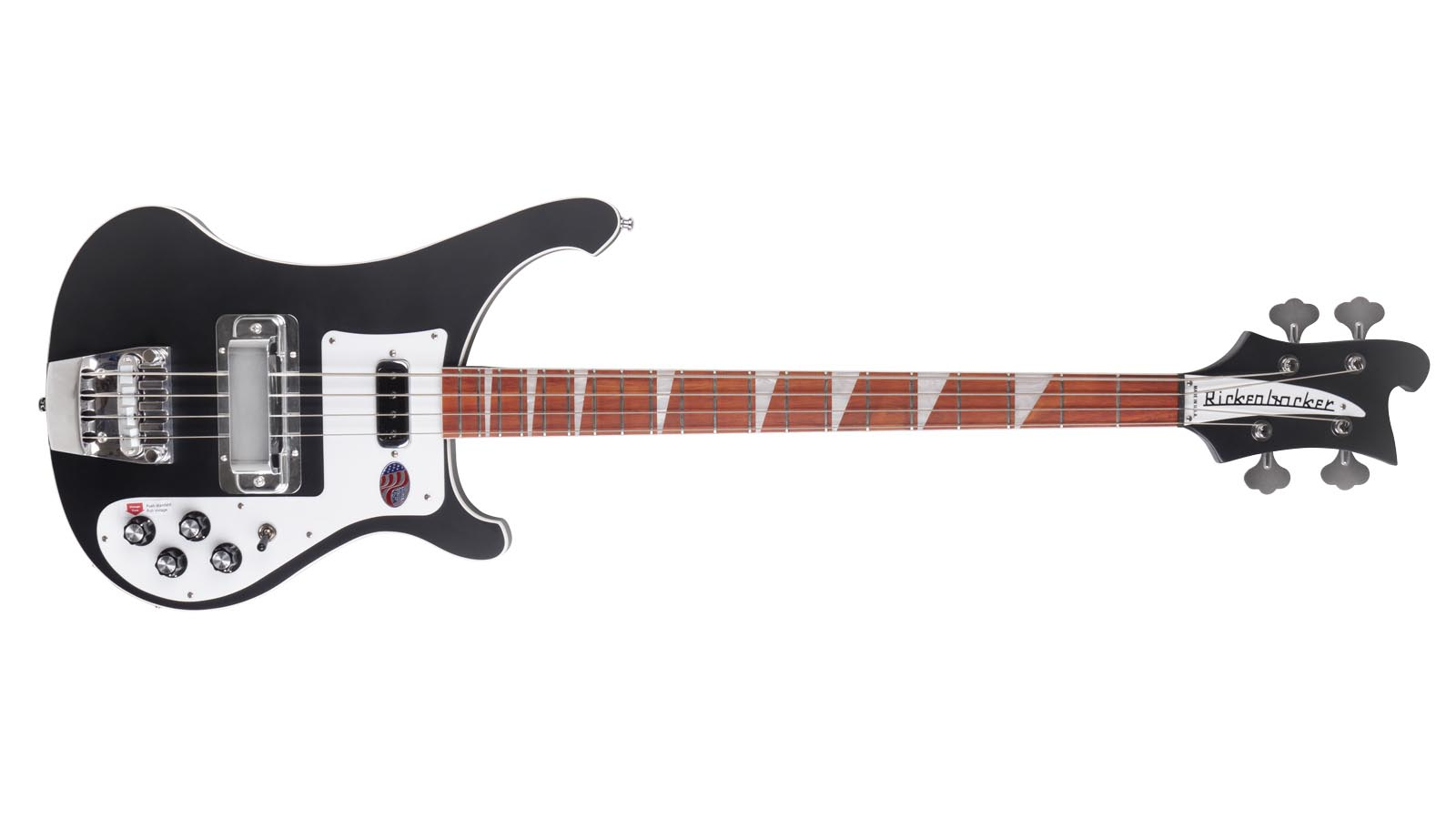 Rickenbacker 4003 Matt Black E-Bass incl Koffer