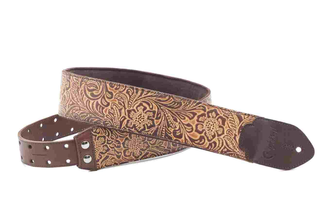 Righton Straps Blackguard Brown Gurt Leathercraft