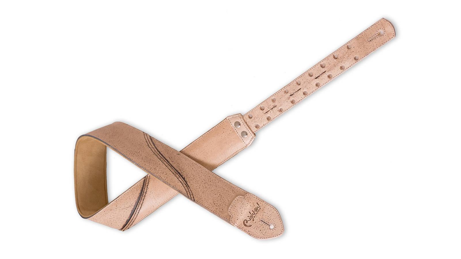 Righton Straps Leathercraft Freckled Beige Gurt