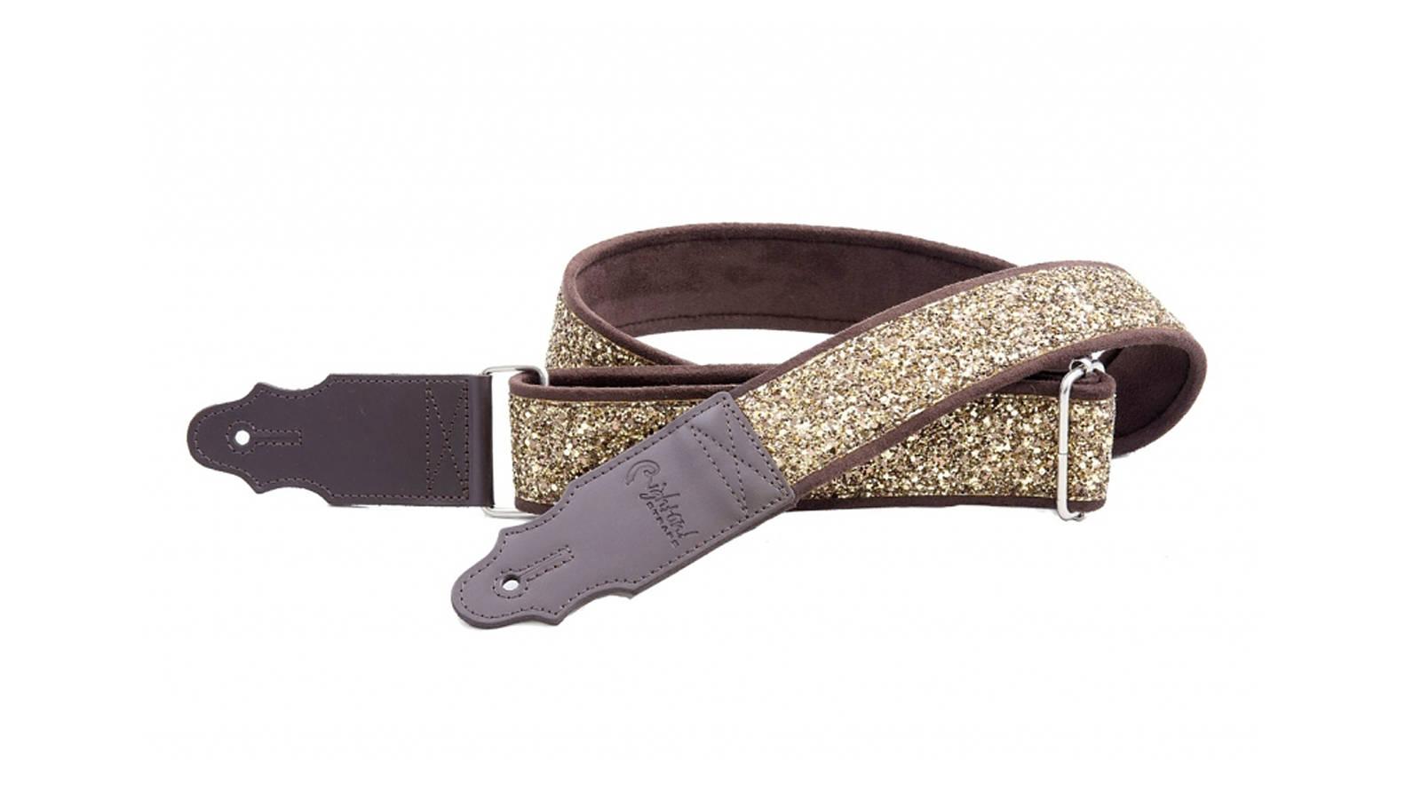 Righton Straps Standard Plus Glitter Gold Gurt
