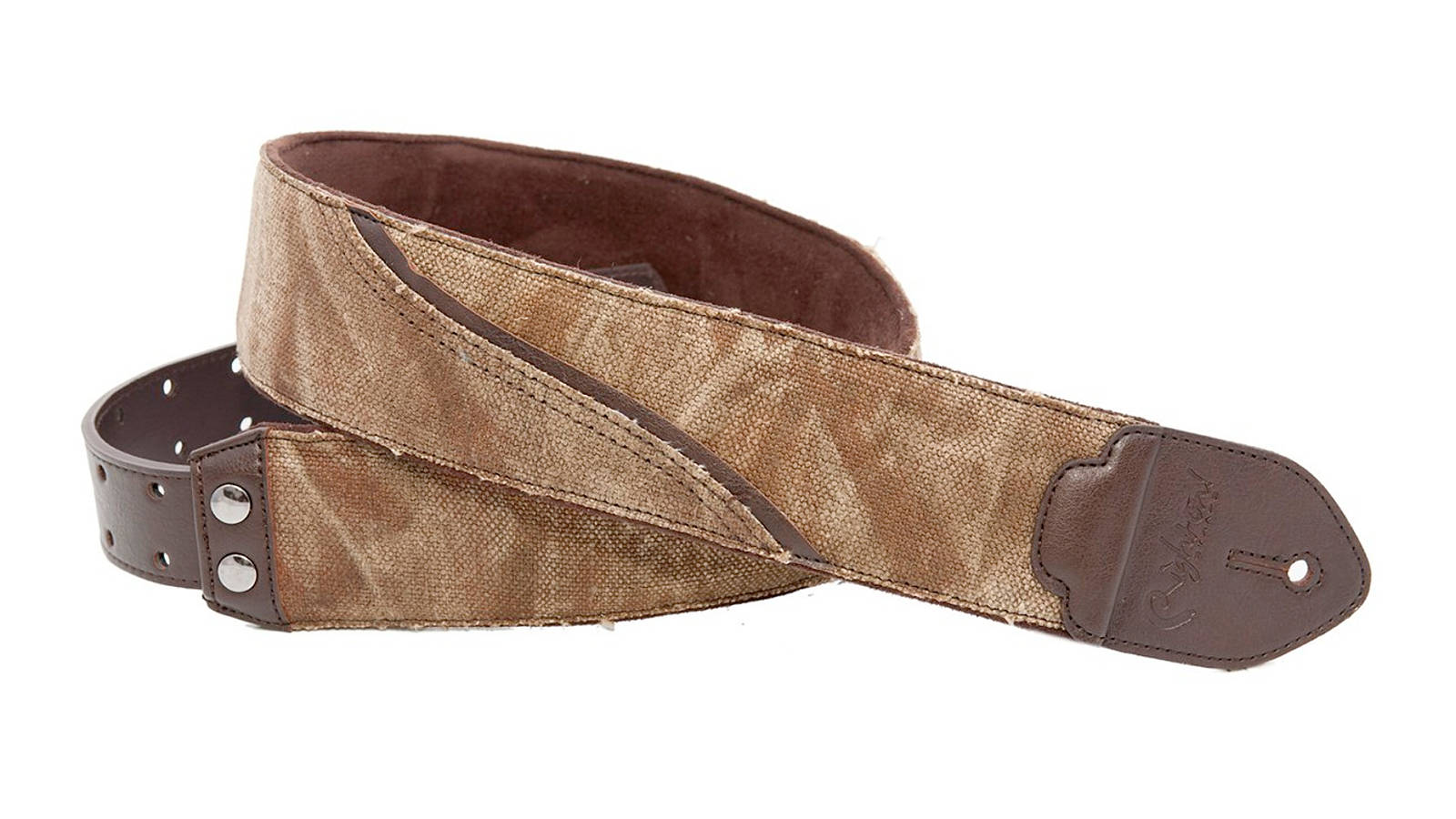 Righton Straps Funky Waves-F Brown Gurt