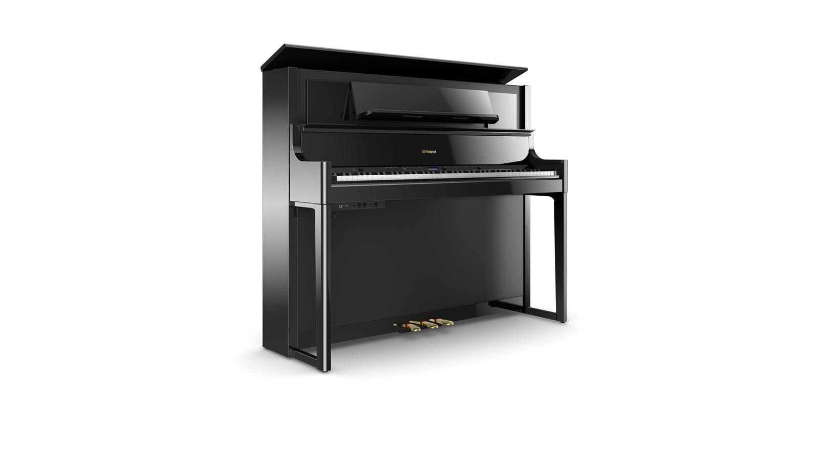 Roland LX708-PE E-Piano schwarz poliert
