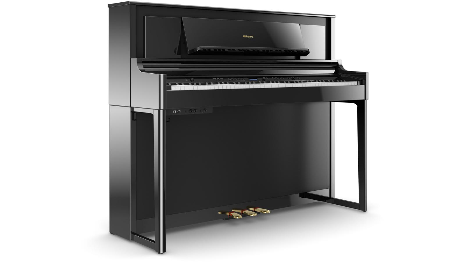 Roland LX706 PE E-Piano schwarz poliert