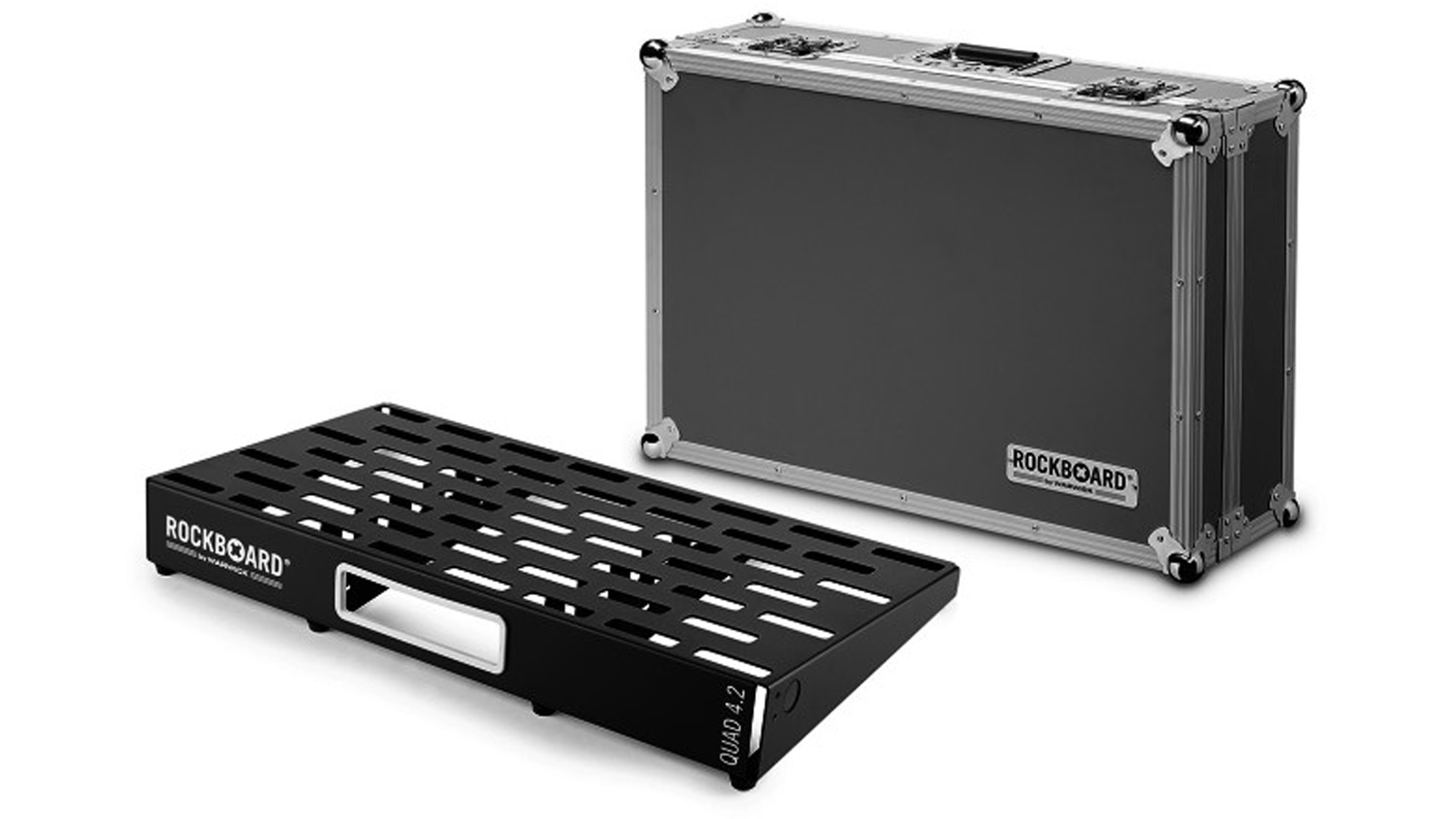 RockBoard QUAD 4.2 mit Flight-Case