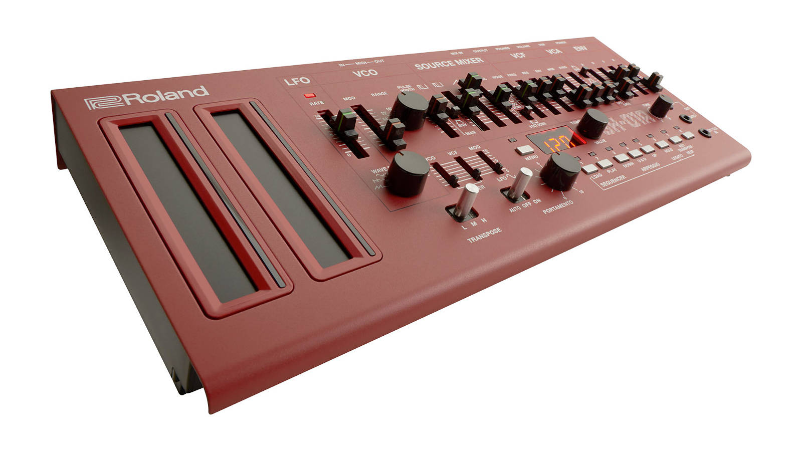 Roland Sh 01a Synthesizer Rot