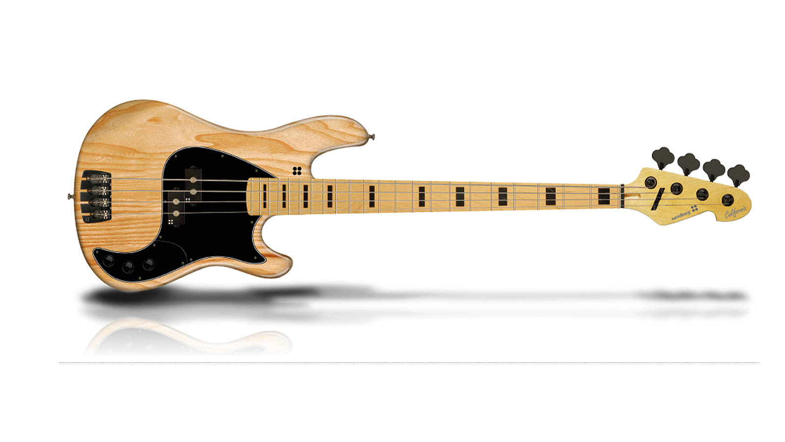 Sandberg California II VS4 E-Bass Natur