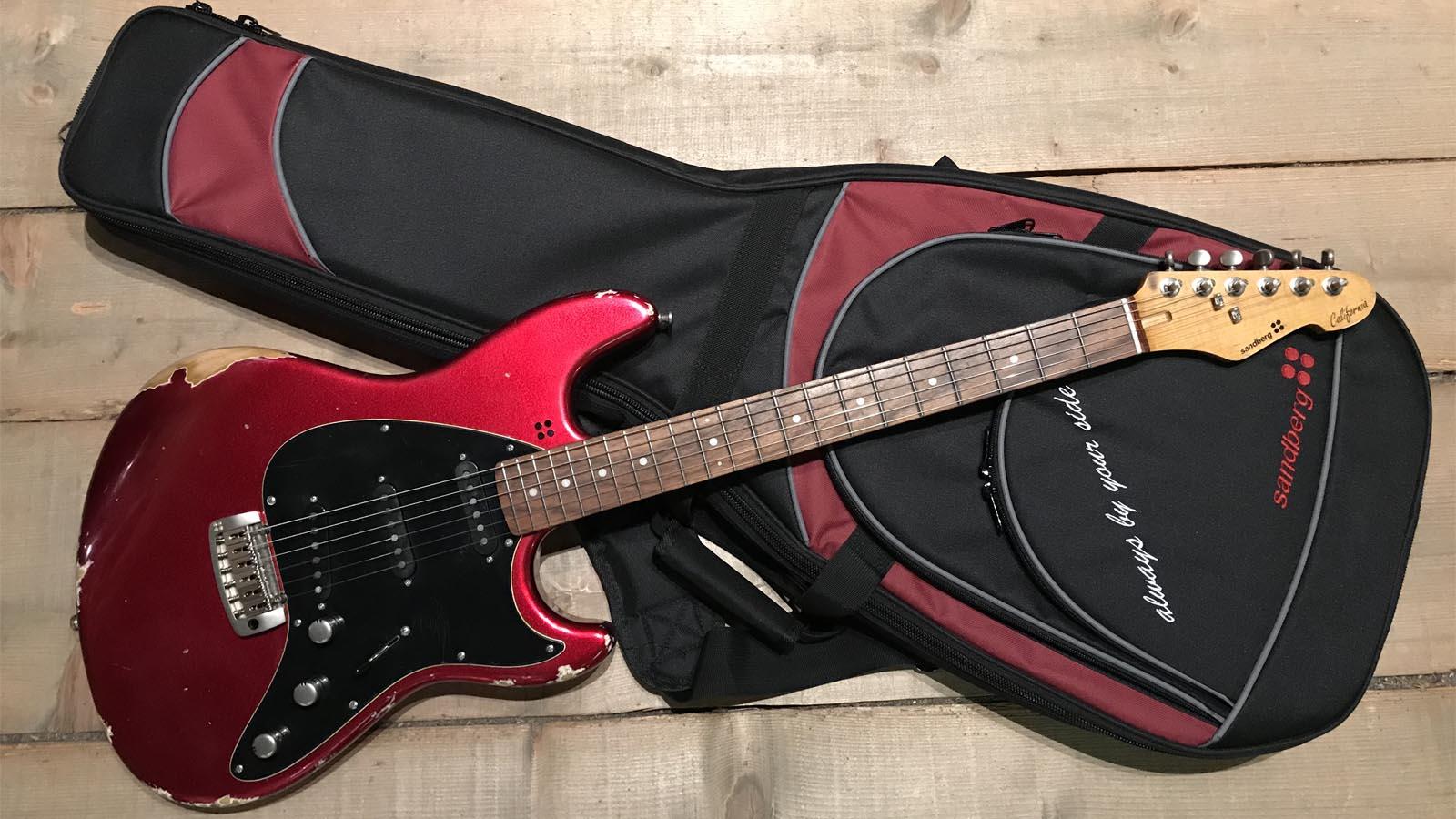 Sandberg California ST II PF Aged Metallic Red