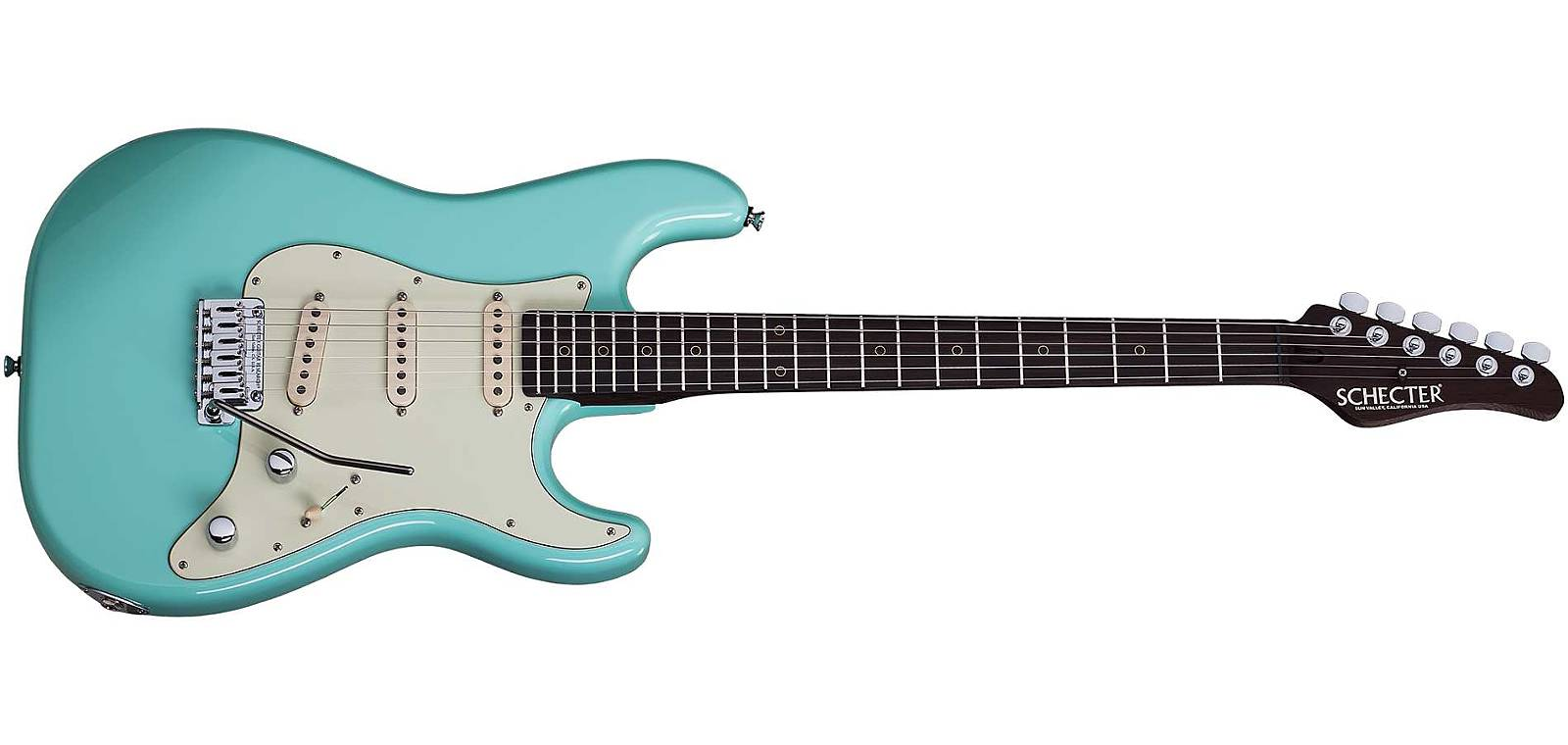 Schecter Nick Johnston USA Custom  Atomic Green