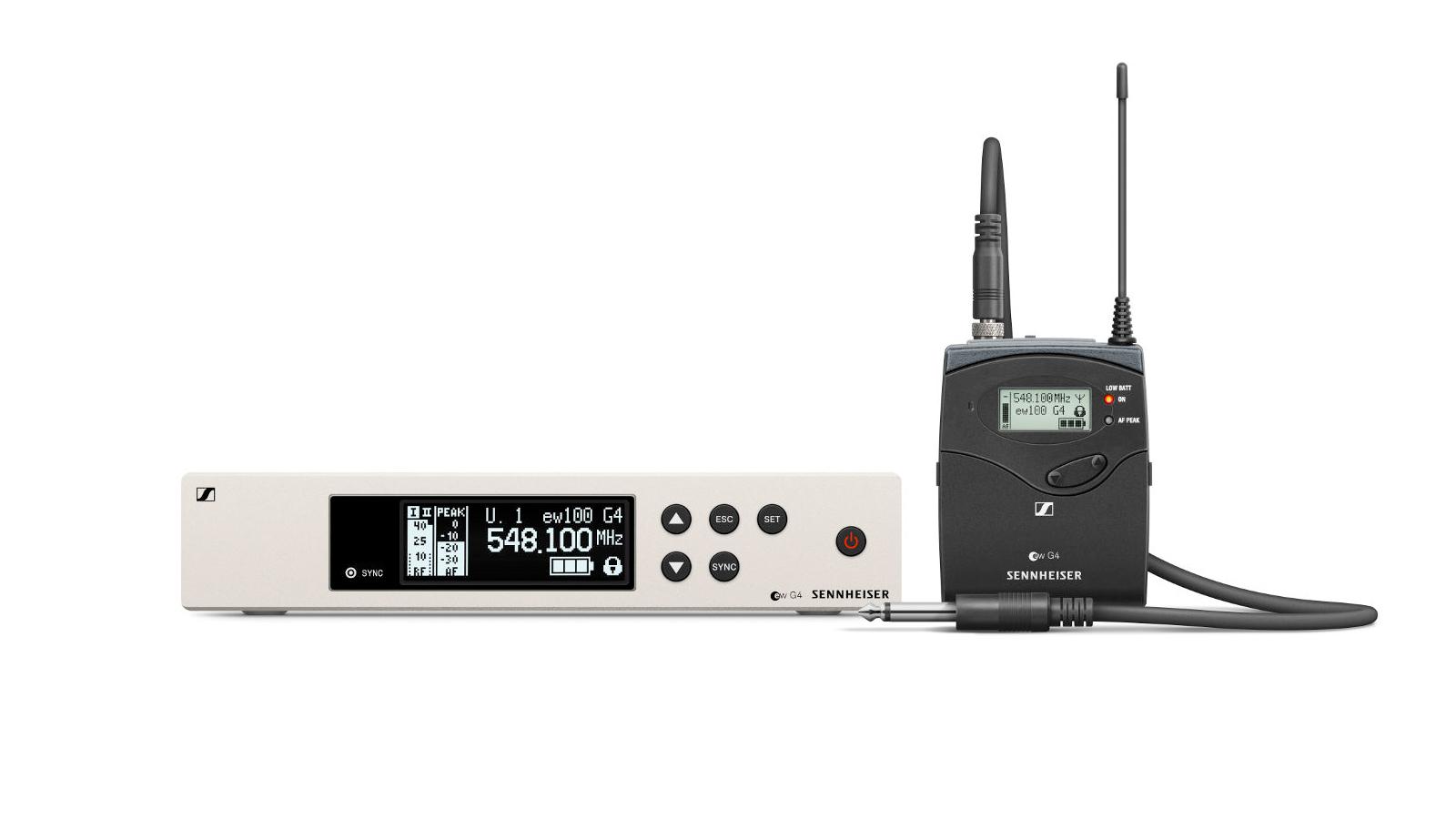 Sennheiser ew 100 G4-Ci1-E Instrumenten Funkset