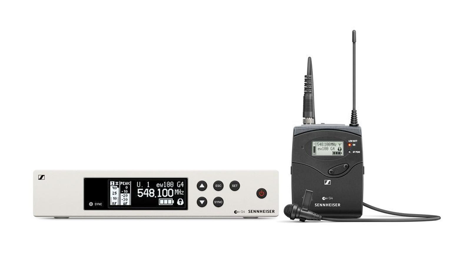 Sennheiser ew 100 G4-ME2-1G8 Lavalier Funkset
