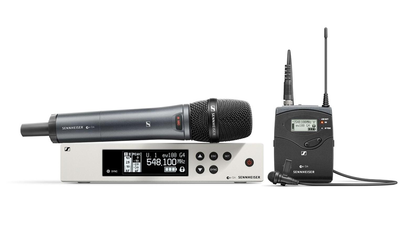 Sennheiser ew 100 G4-ME 2/835-S-E Combo Funkset