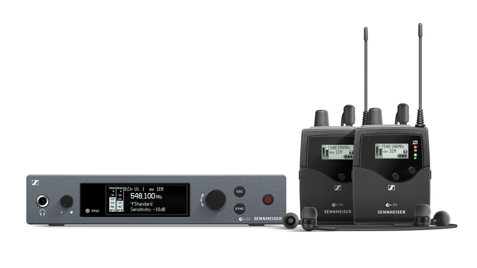 Sennheiser EW IEM G4-TWIN-E In-Ear-Monitoring Set