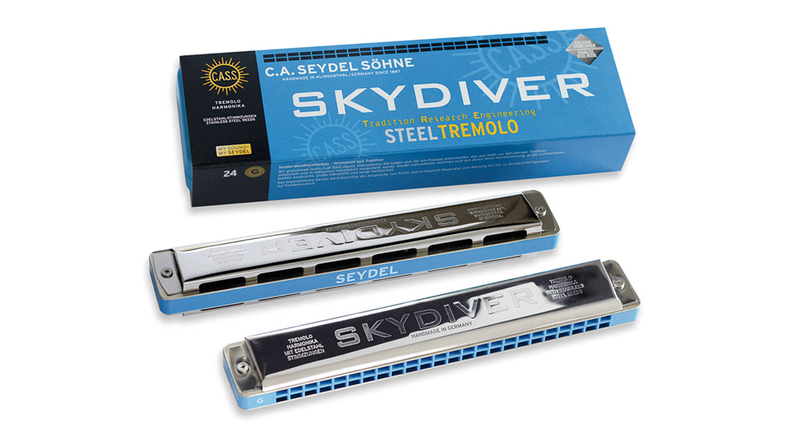 Seydel Skydiver Steel Tremolo G-Dur