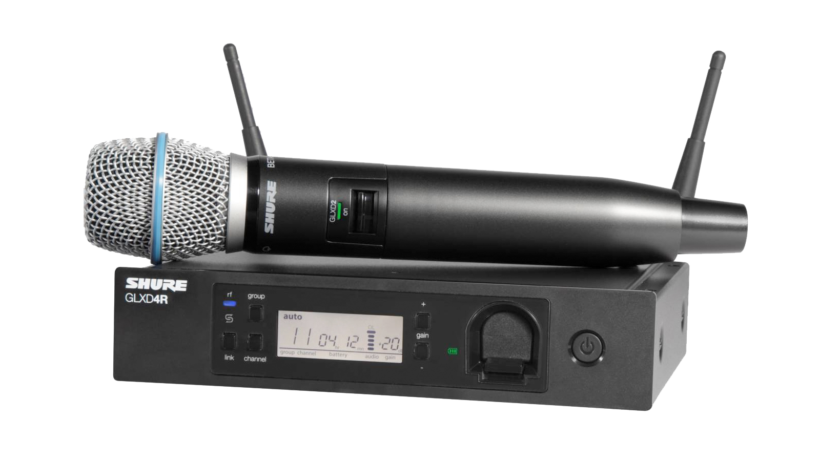 Shure GLXD24R/B87A Digitales Vocal-Funk Set
