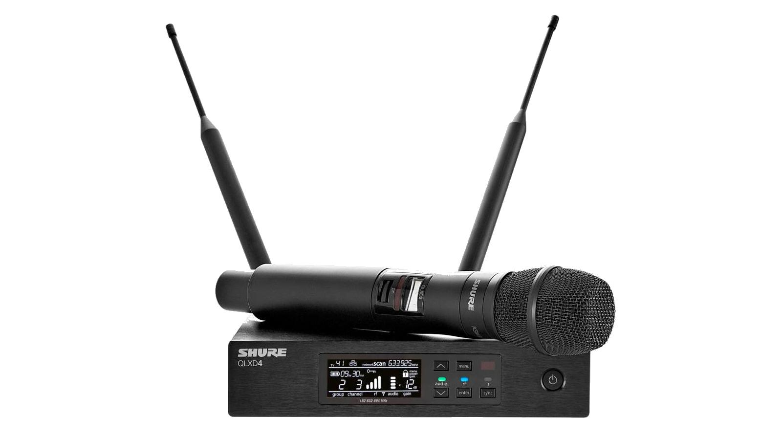 Shure QLXD24E/KSM9-P51 Handsender Funksystem