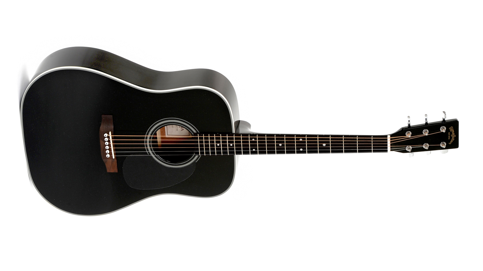 Sigma DM-1ST-BK+ Westerngitarre