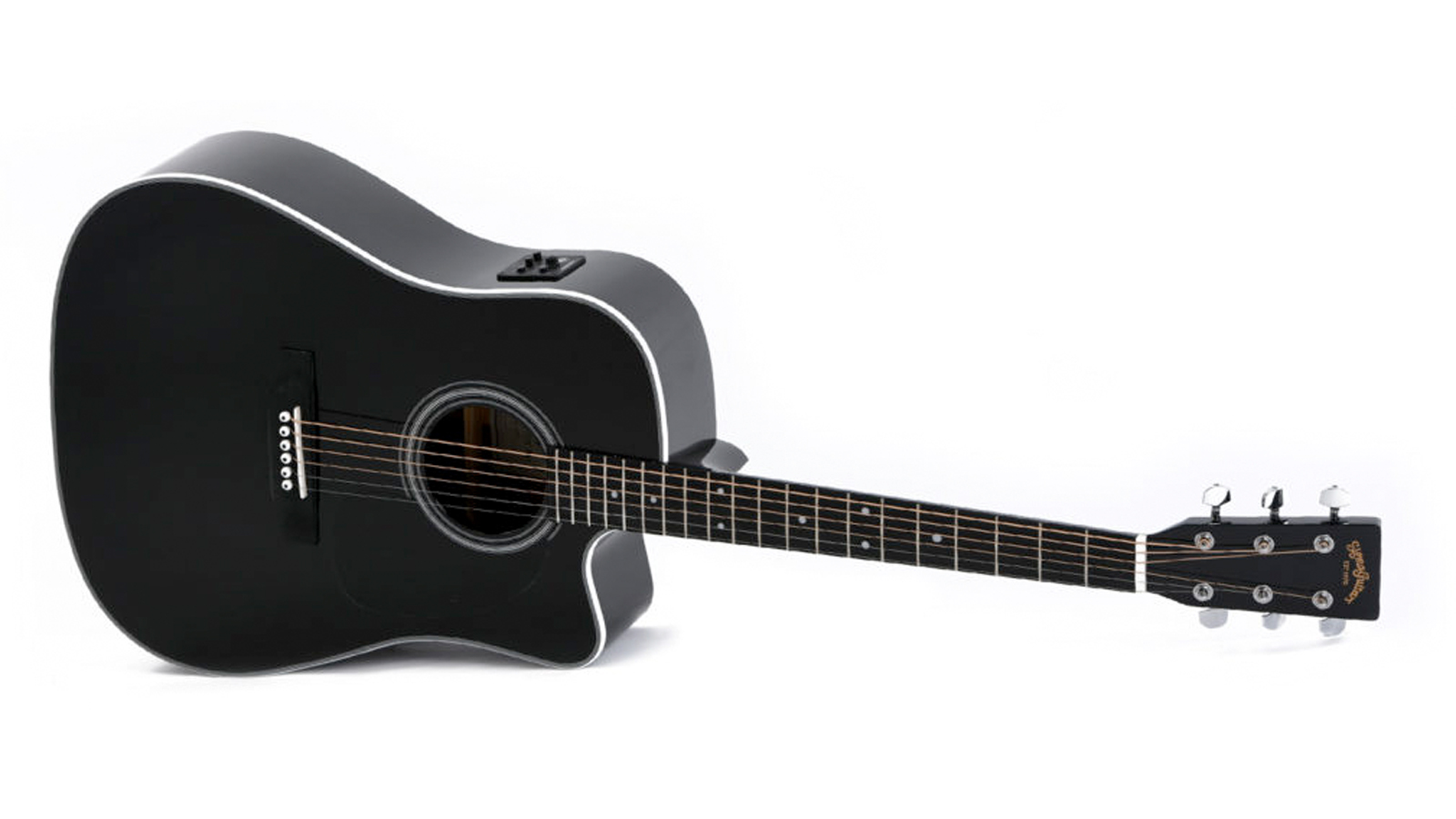 Sigma DMC-1STE-BK+ Westerngitarre