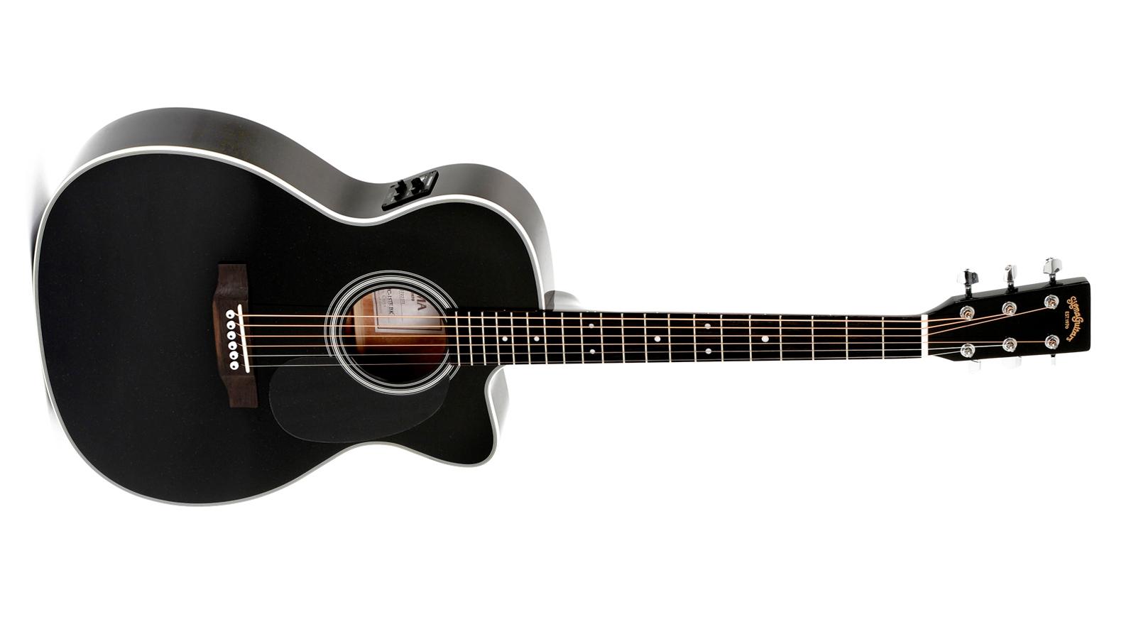 Sigma 000MC-1STE-BK+ Westerngitarre