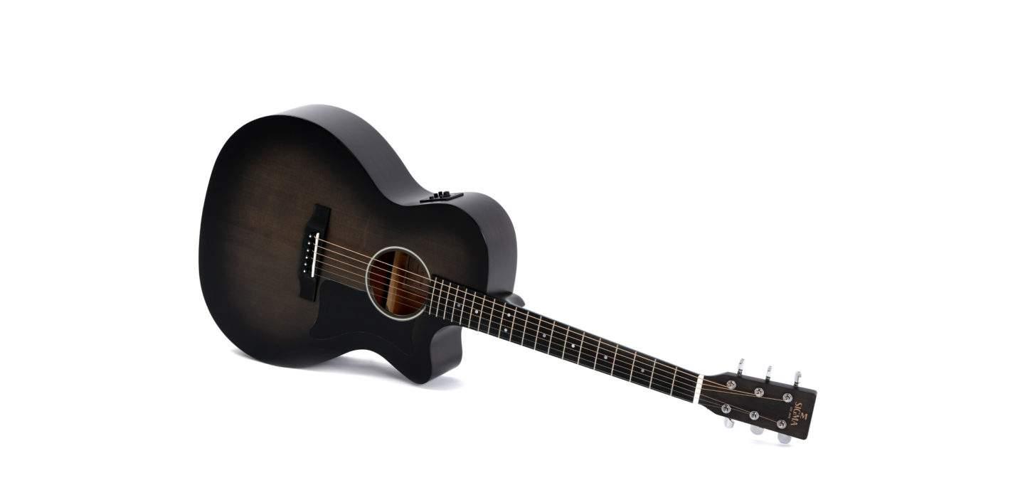 Sigma GMC-STE-BKB+ Westerngitarre