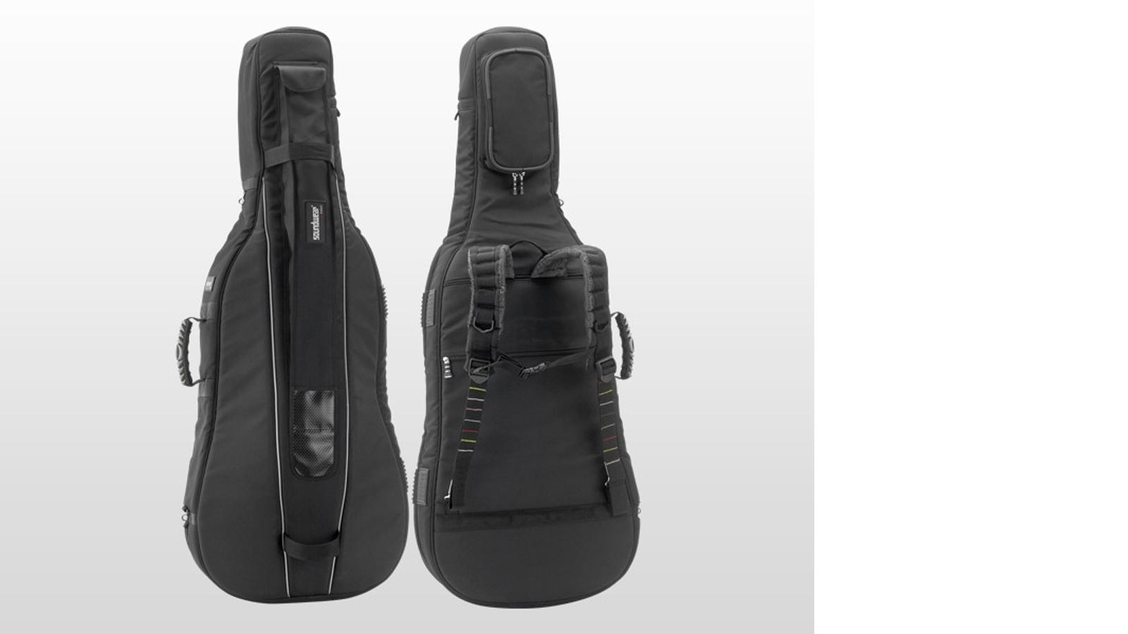 Soundwear Cello Tasche Protector schwarz 4/4