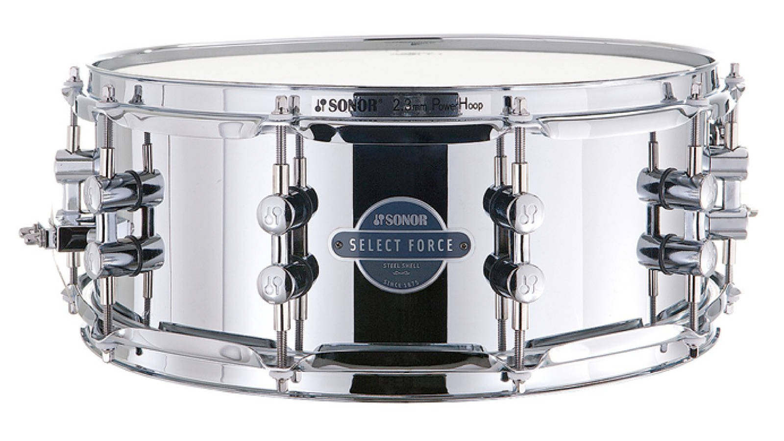 Sonor ESF 11 1455 SDS Essential Force Snare Stahl 14x5,5
